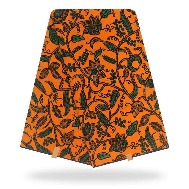 Ankara African Wax African Ankara Real Ankara Wax Fabric Cotton Sewing Dress Material 6yards/One Pieces