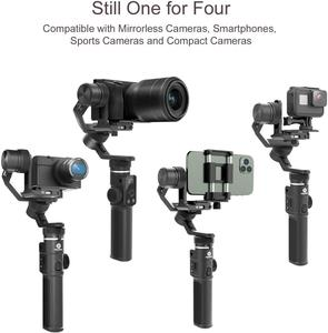 Image 2 - Verwendet Feiyu G6 max Kamera Gimbal Stabilisator für Spiegellose Kamera/Action Kamera/Tasche Kamera/Smartphone, für Sony a6500 Hero 8