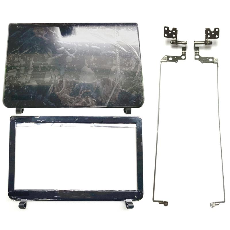 NEW Laptop LCD Back Cover/Front Bezel/LCD Hinges For Toshiba Satellite L50B L50-B L55-B S55T-B S55-B DTG33BLILC00 B1BLI0RC02S