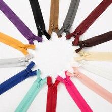 10 шт./пакет 65 см 70 см/80 см/100 см 150 см 200CMLong невидимых застежек-молний DIY нейлон катушки молнии для шитья одежды аксессуар