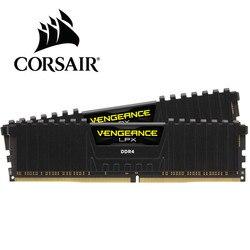 CORSAIR zemsta LPX 8GB 8G DDR4 PC4 2400Mhz 3000Mhz 3200Mhz moduł 2666Mhz 3600Mhz PC pulpit pamięci ram 16GB 32GB DIMM w RAM od Komputer i biuro na