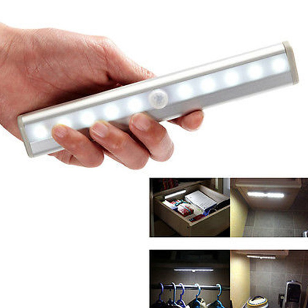 Creative Led Human Body Infrared Sensor Light Usb Charging Wardrobe Cabinet Corridor Decorative Night Light