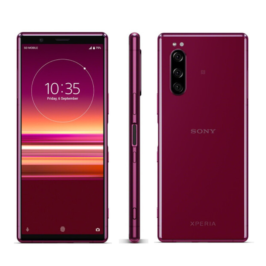 "Brand New Sony Xperia 5 J9210 Mobile Phone 6.1"" 6GB RAM 128GB ROM Snapdragon 855 Octa Core Android 9 Fingerprint Dual SIM Phones"