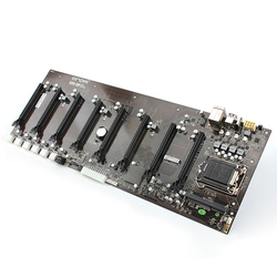 Płyta główna z GPU 8 * PCI-E x1 specjalna dla górnictwa