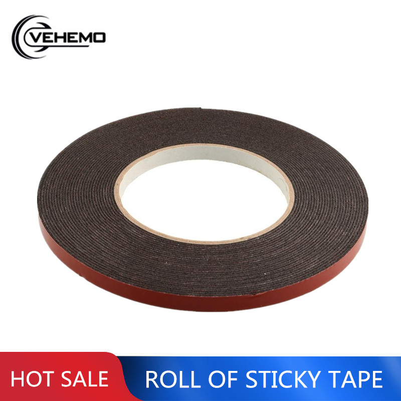 New Double Sided Car Truck Vehicle Trim Moulding & Badge Foam Sticky Tape Strong Adhesive 6mmx10m Heavy Duty
