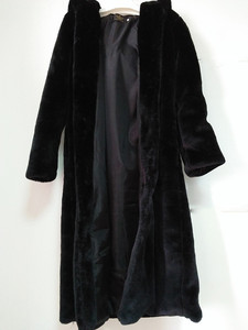 Image 5 - สีดำเสื้อคลุมขนสัตว์Fauxผู้หญิงฤดูหนาวยาวFaux Foxขนสัตว์เสื้อ2020แฟชั่นPlusขนาดเสื้อElegant Lady Warmแจ็คเก็ตY27