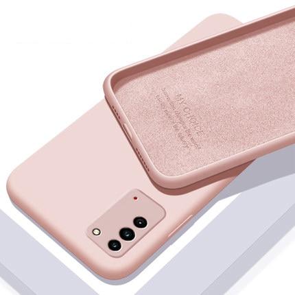 For Xiaomi Redmi Note 10 Pro Case Cover for Redmi Note 10 Pro Mi POCO X3 Pro NFC F3 M3 Cover Liquid Silicone Protective Case