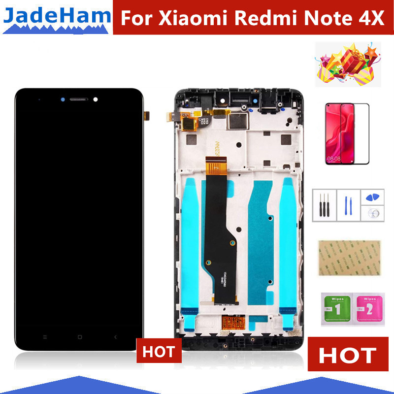 LCD+<font><b>Frame</b></font> For <font><b>Xiaomi</b></font> <font><b>Redmi</b></font> Note <font><b>4X</b></font> LCD <font><b>Display</b></font> Screen For <font><b>Redmi</b></font> Note 4 Global Version LCD Only For Snapdragon 625 image