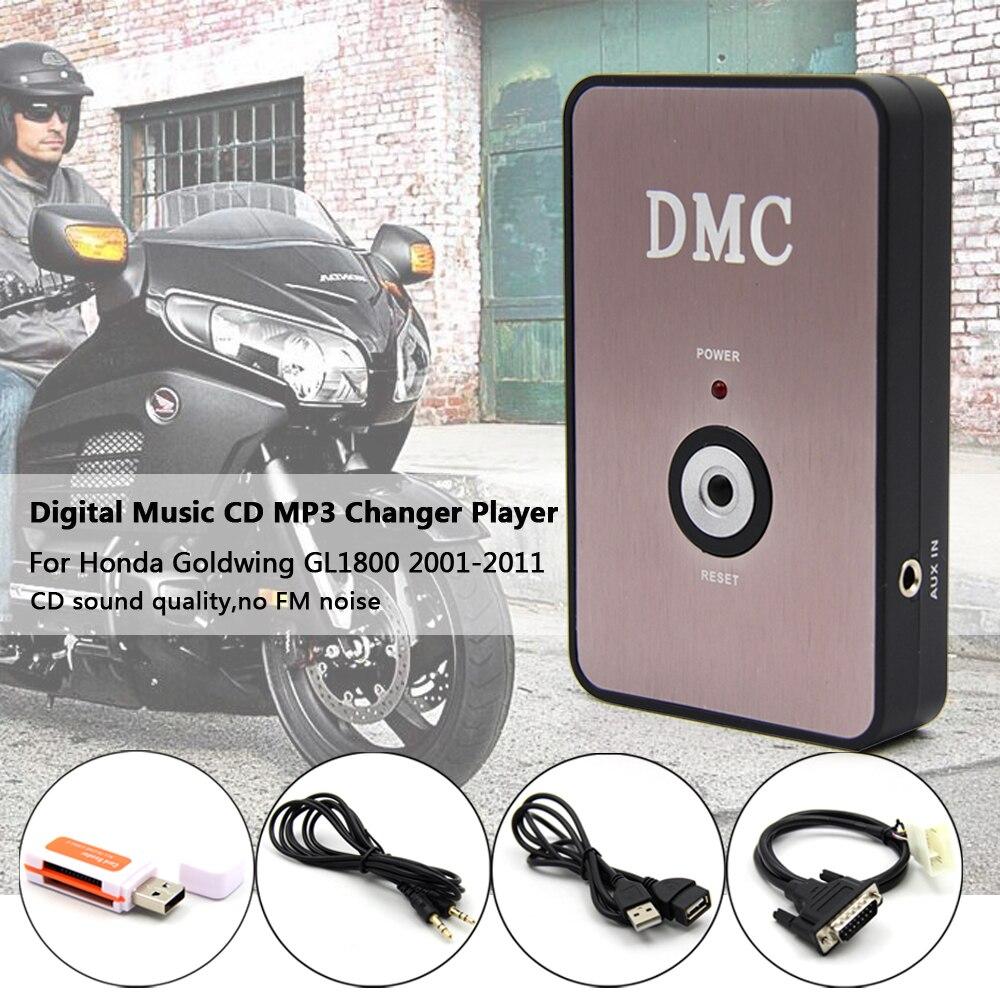 Digital mp3 Player Music CD Changer For Honda Goldwing GL1800 GL 1800 2001-2011