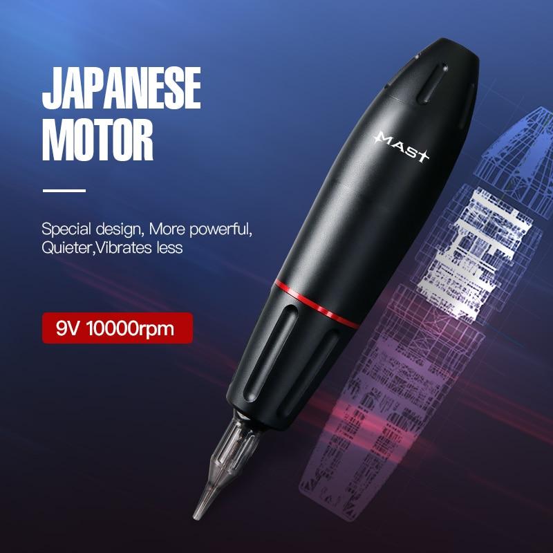 Le plus nouveau pistolet de tatouage rotatif approvisionnement de moteur fort cartouches de haute qualité fournitures de stylo Tatttoo - 2