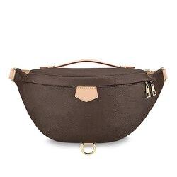 Новая модная поясная сумка, Женский кошелек, роскошные брендовые дизайнерские сумки от известного бренда, женские кожаные сумки с монограм...