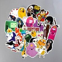 30 Uds Adventure Time Adhesivo resistente al agua de PVC para equipaje, pared, coche, portátil, bicicleta, motocicleta, Notebook, juguetes, pegatinas
