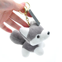 Прямая поставка плюшевые игрушки в виде собак хаски мягкие куклы