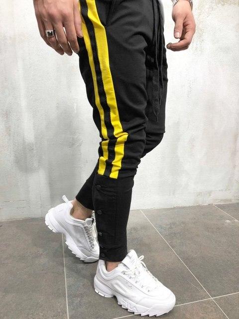 MARKA KRALI-Pantalones de chándal para Hombre, ropa de calle divertida, para correr, Fitness 5