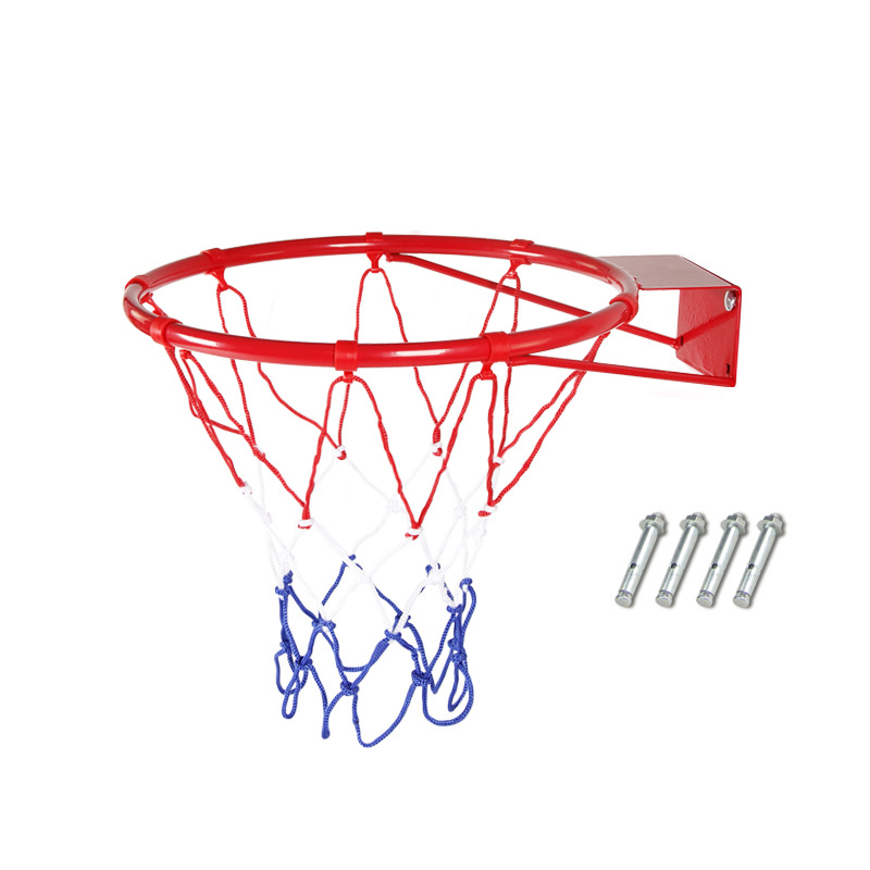 Diameter 32cm Outdoor Children Basket Household Outdoor Cast Wall Basketball Hoop Type Basketball Stand Wall