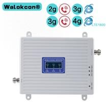 2G 3G 4G GSM 900mhz DCS 1800mhz WCDMA 2100mhz Triple Band Moblie Signal Booster LTE 1800mhz Repeater Verstärker Für Europa Asien