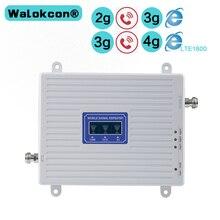 مكبر للصوت 2G 3G 4G GSM 900mhz DCS 1800mhz WCDMA 2100mhz الثلاثي الفرقة موبيلي إشارة الداعم LTE 1800mhz مكرر مكبر للصوت لأوروبا آسيا