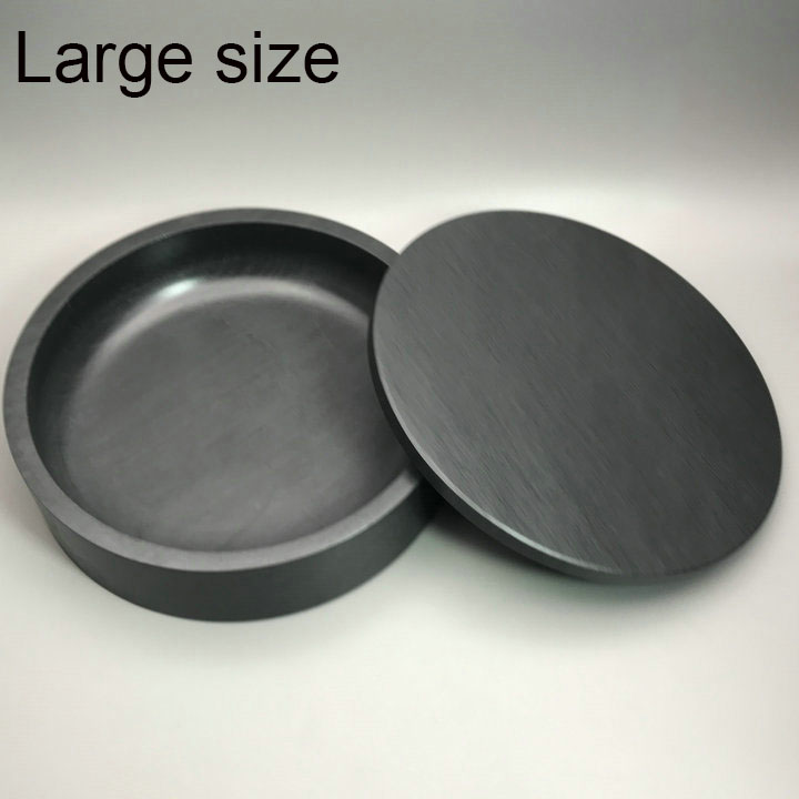 Big size Chinese Calligraphy Inkstone Grinding Ink Well Made of Natural Stone Round Inkstone with cover Paint Ink Slab