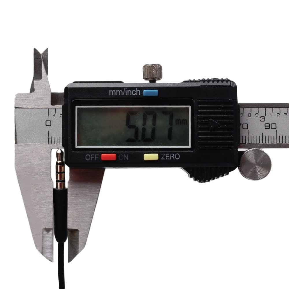 Uniwersalny profesjonalny 3.5mm męski na żeński przedłużacz Audio kabel krótki 10cm 4 bieguny przedłużacz Audio kabel do telefonu