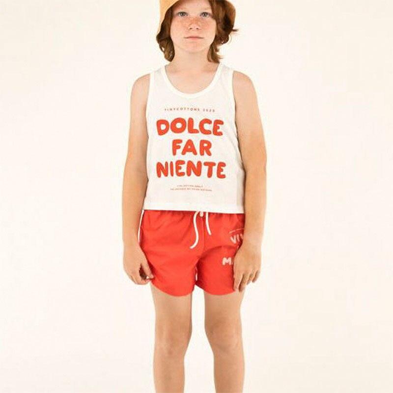 2020 Fashion Brand Kids Summer Tshirt and Shorts Toddler Boys Girls Orange T Shirts Children Stylish Tee Shirt Baby Cartoon Tops 4