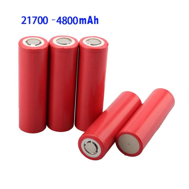 Новый аккумулятор 5C 21700, перезаряжаемый аккумулятор 3,7 в, мАч, литий-ионные батареи в для электромобилей