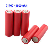 NEW 5C battery 21700 Rechargeable Battery 3.7V4800mAh li ion Batteries 3.7V for Electric cars