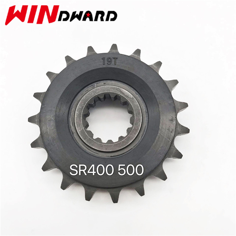 428X19T Motorcycle Front Sprocket Small Gear For <font><b>Yamaha</b></font> <font><b>SR400</b></font> <font><b>SR500</b></font> image