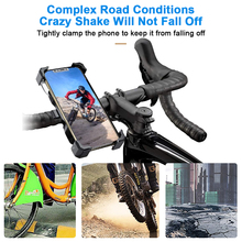 Motorcycle Phone Holder 15W Wireless Smart Charger QC3.0 Wire Fast Charing 3 in 1 Stand Rotating Bracket For iPhone Samsung Xiao