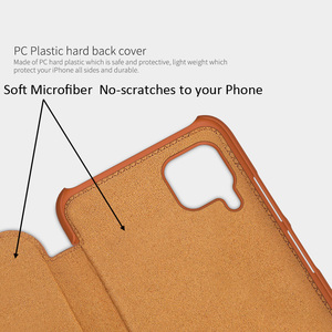 Image 2 - Nillkin Qin kitap Flip deri kılıf kapak için Huawei P40 Lite Nova 7i Nova 6 SE