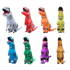 Image 5 - Adult Inflatable Dinosaur Costume T REX  Cosplay Party Costum Halloween Costumes for Men Women Anime Fancy Dress Suit
