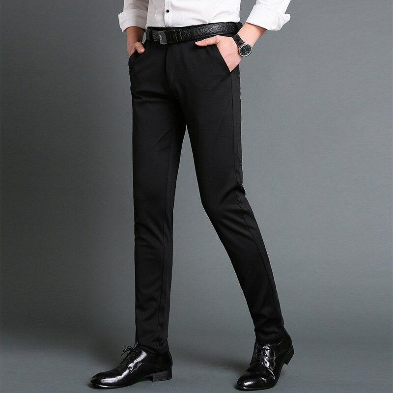 Mens Perapi Celana Musim Semi Musim Gugur Pria Celana Panjang Lurus Bisnis Kantor Pria Formal Celana Ukuran Besar Klasik Celana Pria Setelan Celana Aliexpress