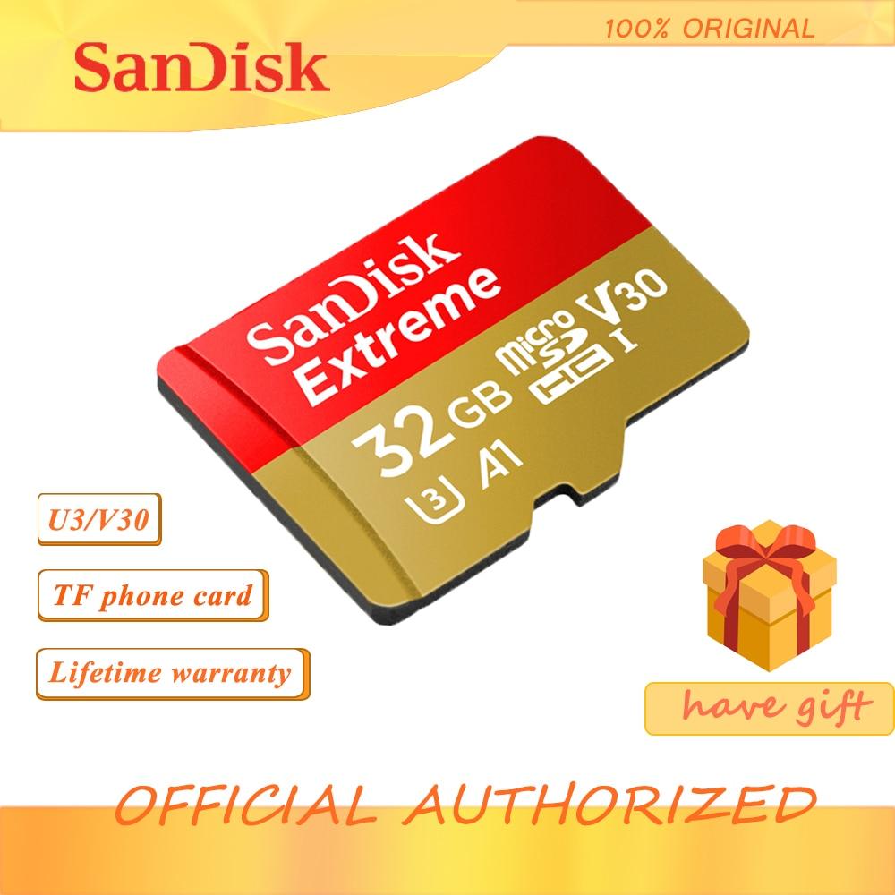 Cartão de memória extremo original 256gb 128gb 64gb 32gb cartão micro sd class10 u3 tf cartão de memória
