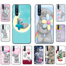 Tatty Teddy bear leuke Soft TPU telefoon case voor VIVO V15 V11 Pro V9 V7 V5 Y17 Y55s Y69 Y71 y81s Y91C Y93(China)