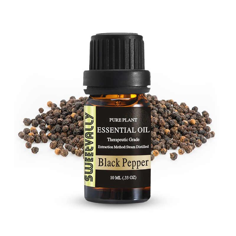 10 Ml Cedarwood Minyak Esensial untuk Aromaterapi Diffuser Menghilangkan Stres Minyak Esensial Organik Tubuh Membantu Tidur Bunga Buah Minyak