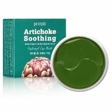 PETITFEE Artichoke Soothing Hydrogel Eye Mask 60ea Anti-Aging Anti-Puffiness Eye Patches Remove Dark Circle Crystal Beauty Skin