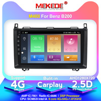 Hot sales!android10 4G+64G autoradio Car Multimedia Player for Mercedes Benz B200 W245 W169 Built in DSP carplay IPS 4G LTE