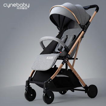 цена 2020 new cynebaby baby stroller lightweight folding can sit reclining baby umbrella car simple portable children stroller онлайн в 2017 году