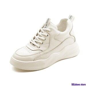 Women's White Sneakers Genuine
