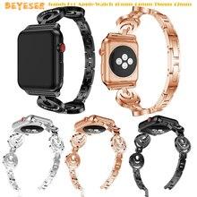 luxury fashion bands For Apple Watch 40mm 44mm 38mm 42mm smart watch wrists straps for Apple Watch series 4 3 2 1 Watch bracelet marc saltzman apple watch for dummies