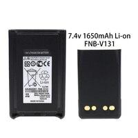 34 FNB-V103LIA 1380mAh Li-ion Battery Compatible for Vertex VX-231 VX231 VX-228 VX228 VX230 VX-234 (Fits for CD-34/VAC-300 Charger) (1)