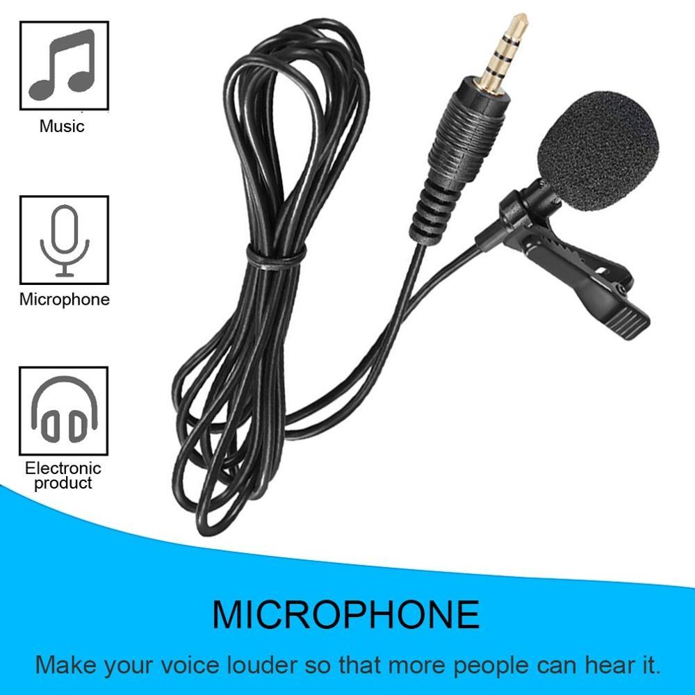 Купить компактный петличный микрофон с зажимом для галстука микрофоны