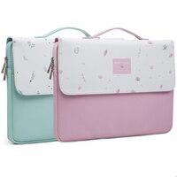 Cute Handbag Laptop Bag Lovely Girl Leather Waterproof Computer Notebook Bag For MacBook 11,13,15,15.6 inch Preppy Hand Bag