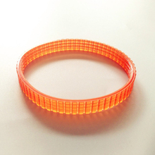 Electric Planer Drive Driving Belt for 1900B, 238MM Girth Electric Planer Belt Orange Electric Planer Accessories