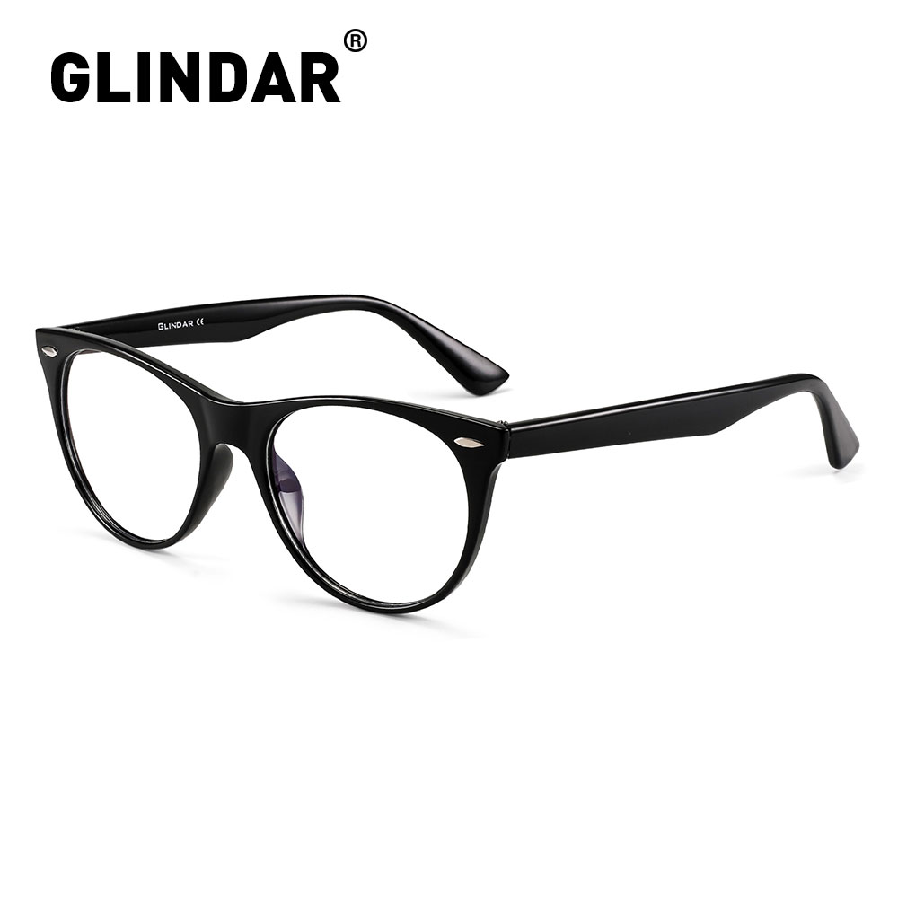 Blue Light Blocking Round Glasses Women Men Computer Gaming Anti Blue Ray Glasses