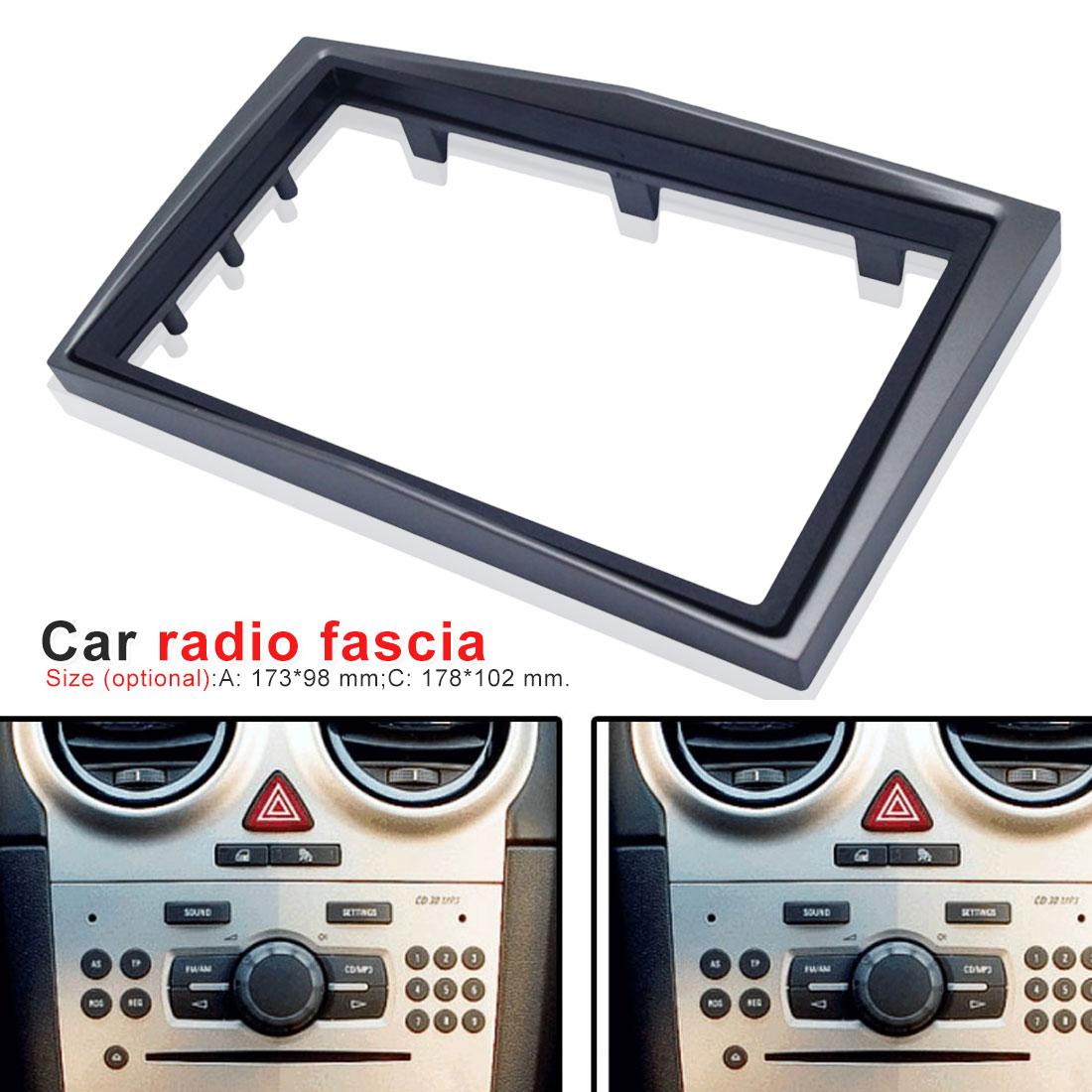 Vauxhall Corsa D Zafira Astra Fascia//Facia Panel Adapter Double DIN Surround