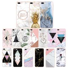 Transparent Original Luxury Marble Case For iPhone 8 7 Plus 6 6S 5 5S 5C SE Soft TPU Silicone Cover for X XS MAX Xr