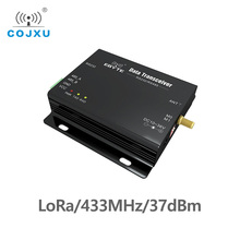 Lora SX1278 433MHz 5 วัตต์ยาว E32 DTU 433L37 Transceiver Receiver 37dBm 20km RS232 RS485 WiFi Serial พอร์ตข้อมูลเกียร์