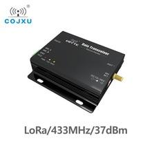 لورا SX1278 433MHz طويلة المدى 5 واط E32 DTU 433L37 جهاز الإرسال والاستقبال استقبال 37dBm 20 كجم RS232 RS485 واي فاي نقل البيانات المنفذ التسلسلي