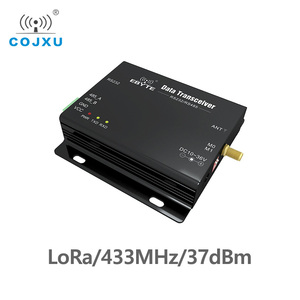 Image 1 - לורה SX1278 433MHz ארוך טווח 5W E32 DTU 433L37 משדר מקלט 37dBm 20km RS232 RS485 wifi סידורי יציאת נתונים שידור