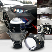 3inches 48W 6000k Car Bi LED Lens Headlight High Power Auto Projector For Retrofit Kits